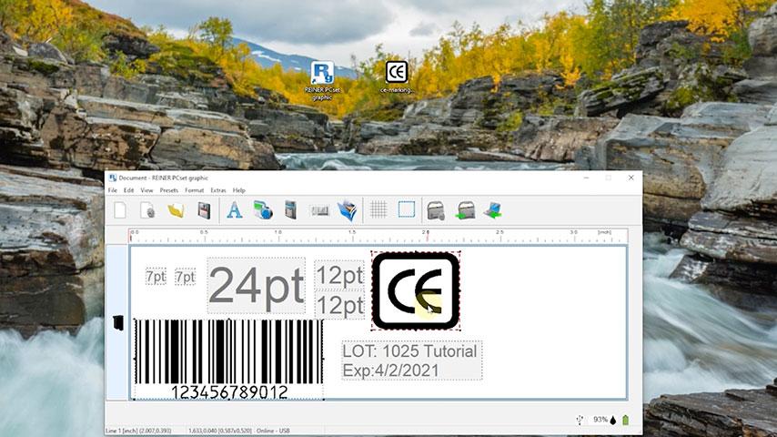 Reiner PCset Software screenshot