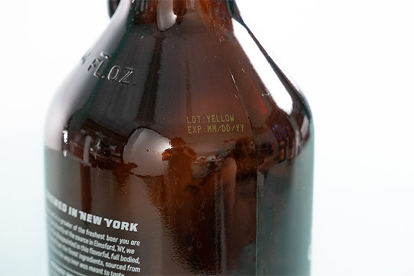 Craft beer bottle