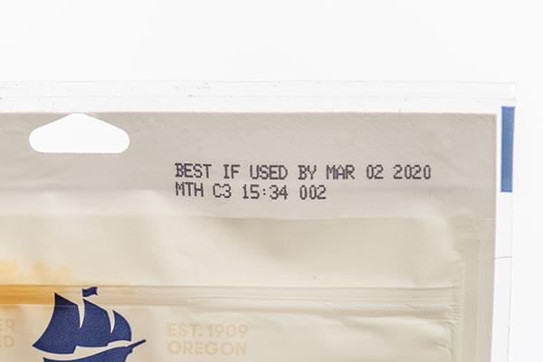 best buy date printed on bag