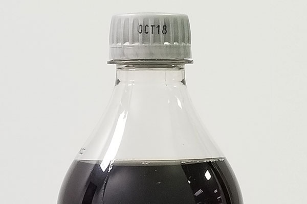 print date on cola cap bottle